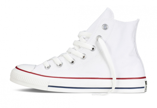 Converse All Star Chuck Taylor high белые фото 2