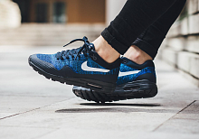 Nike Air Max 87 Flyknit Blue-black