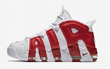 Nike Air More Uptempo White/Red