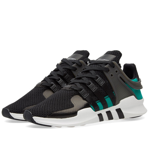 Adidas EQT Support ADV — Black / Sub Green