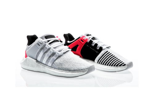 Adidas EQT Support 93/17 White/Core Black/Turbo фото 2