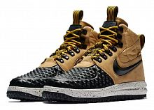 Nike Lunar Force 1 Duckboot Metallic Gold/Light Bone/Black