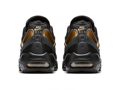 Nike Air Max 95 Black Gold фото 2
