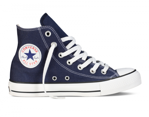Converse All Star Chuck Taylor high синие фото 2