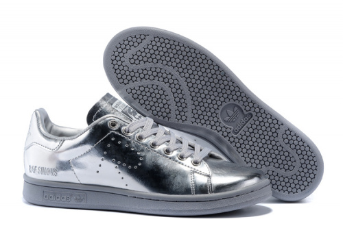 Adidas Originals Stan Smith Silver фото 4