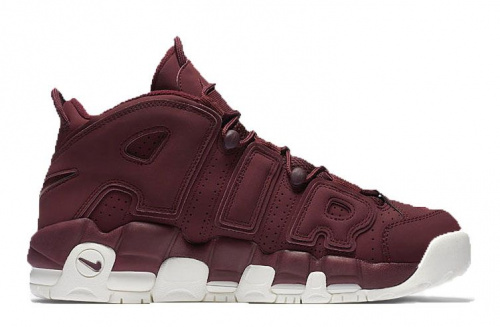 Nike Air Uptempo «Night Maroon» Purple/White фото 2