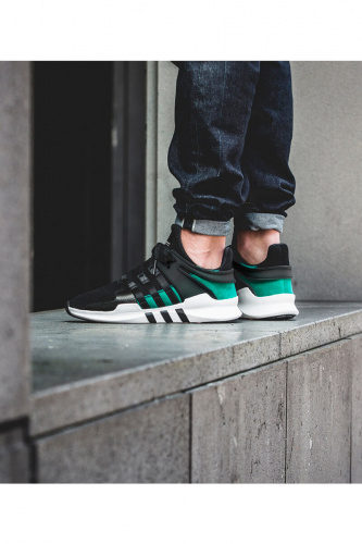 Adidas EQT Support ADV — Black / Sub Green фото 2