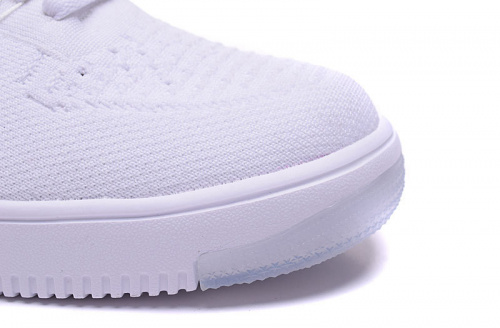 Nike Air Force 1 Flyknit White фото 3