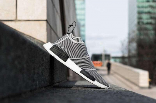 Adidas NMD HumanRace Полосатые фото 5