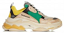 Balenciaga Triple S Green/Yellow/Beige
