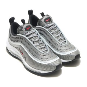 Nike Air Max 97 Silver/Red/Black/White фото 4