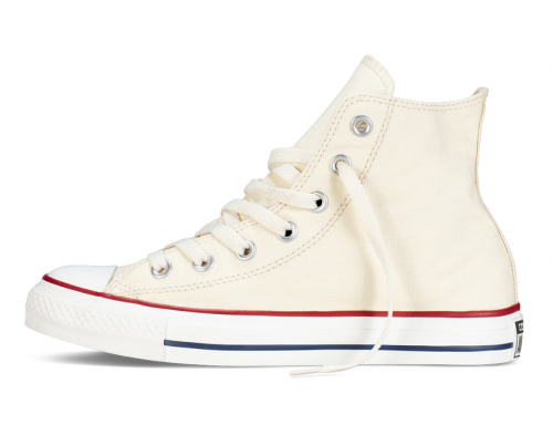 Converse All Star Chuck Taylor high молочные фото 4