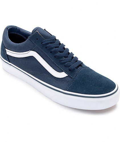 Vans Old Skool Blue/White фото 2