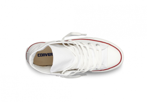 Converse All Star Chuck Taylor high белые фото 4