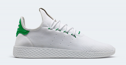 Adidas x Pharrell Williams White-Green фото 2