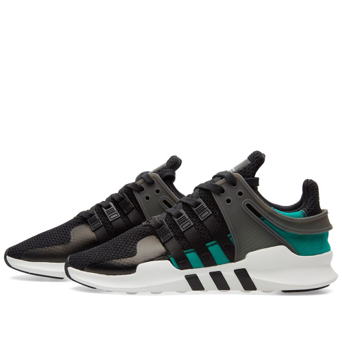 Adidas EQT Support ADV — Black / Sub Green фото 3