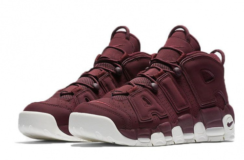 Nike Air Uptempo «Night Maroon» Purple/White фото 3