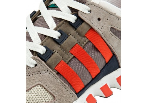 Adidas EQT GUIDANCE 93 Grey/Orange фото 4