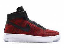 Nike Air Force 1 Flyknit Красные
