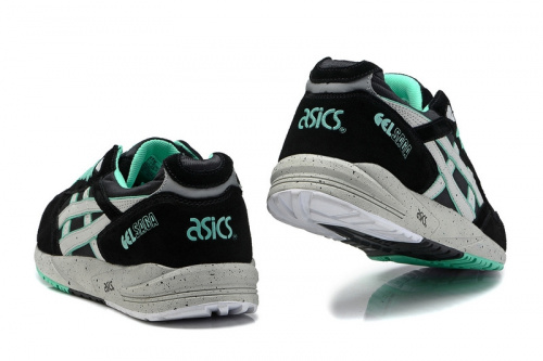 Asics Gel Saga Black Green фото 2