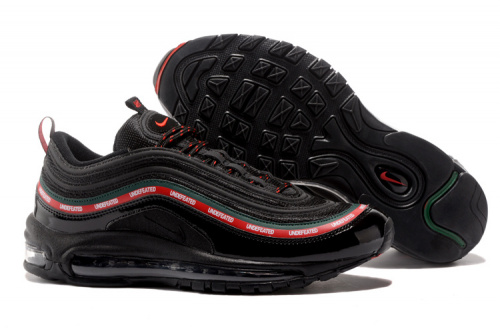 Nike Air Max 97 Undefeated Black фото 2