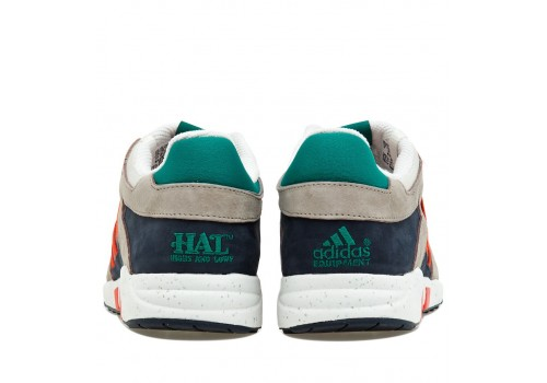 Adidas EQT GUIDANCE 93 Grey/Orange фото 3