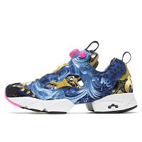 Reebok Insta Pump Fury Blue Gold