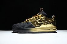 Nike Lunar Force 1 Duckboot Low Gold-Black