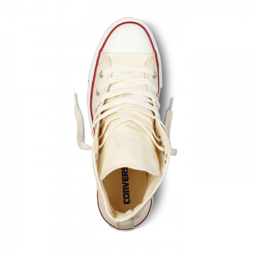 Converse All Star Chuck Taylor high молочные фото 2