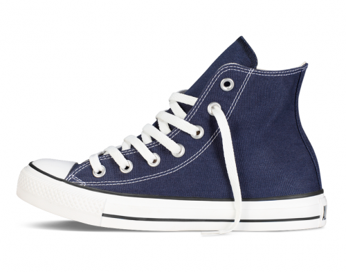 Converse All Star Chuck Taylor high синие фото 3
